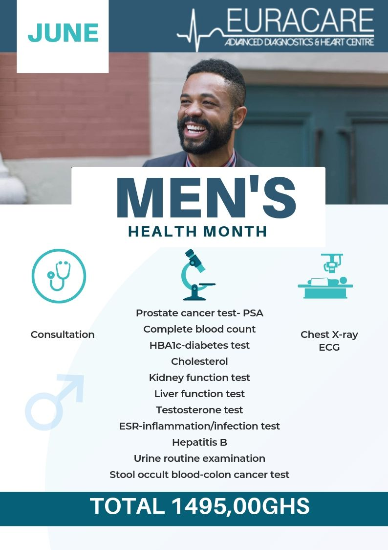 Men's Health Month – June