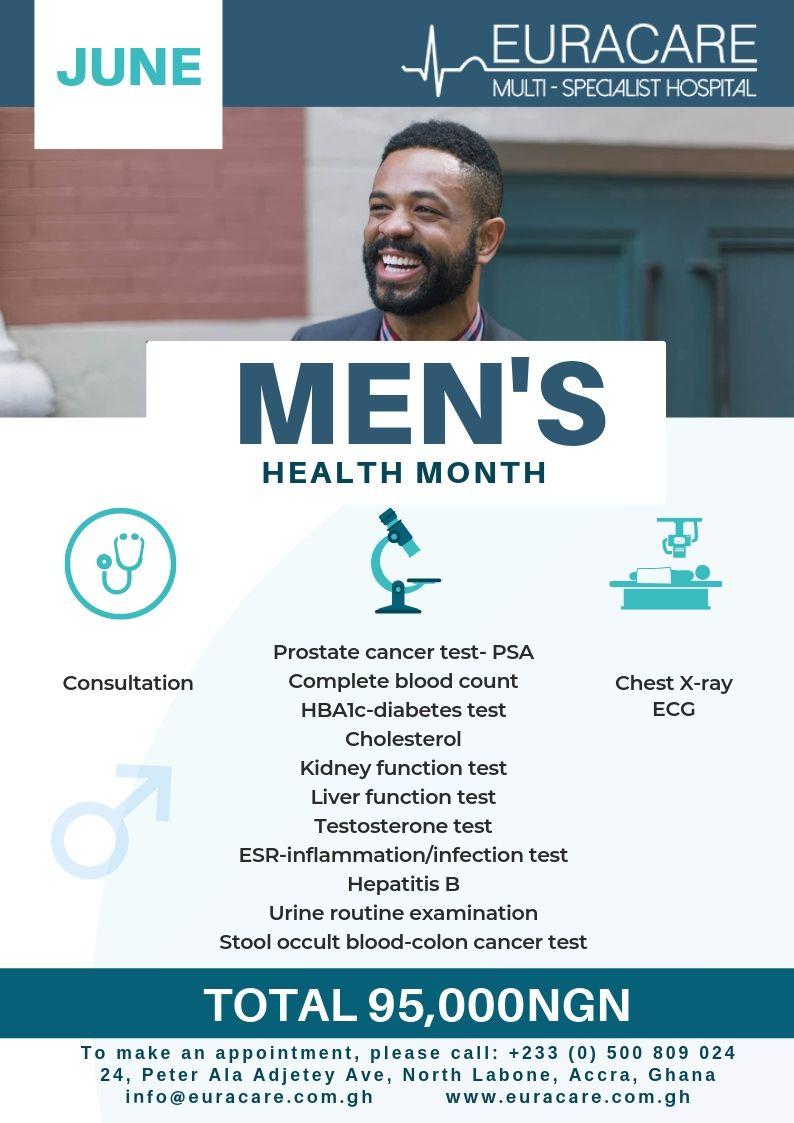 Men's Health Month – June