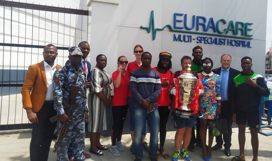 Euracare Multi-Specialist Hospital is a proud sponsor of the Nigerian Rugby League Association