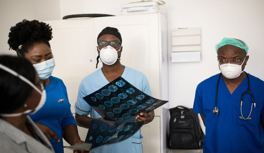 Euracare Advanced Diagnostics and Heart Centre successfully performed Ghana's first Intra-arterial chemotherapy (IAC)